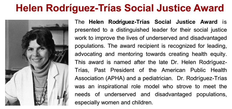 Who Was Helen Rodriguez-Trias?